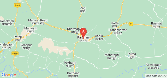 map of Parbhani, India