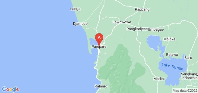 map of Pare-Pare, Indonesia