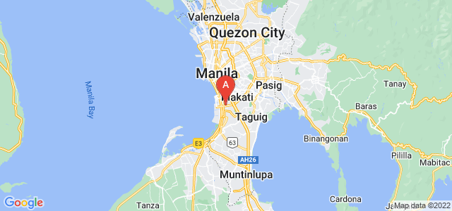 map of Pasay, Philippines