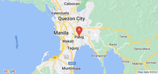 map of Pasig, Philippines