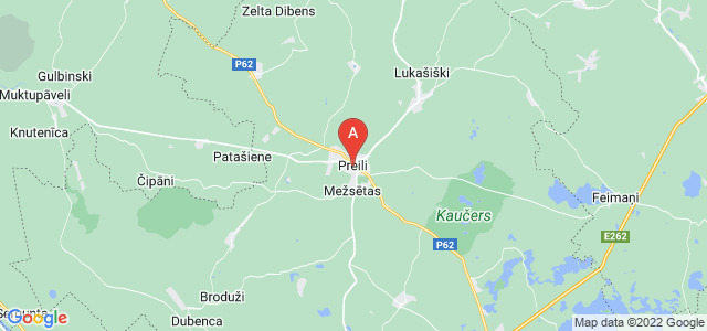 map of Preiļi, Latvia