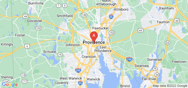 map of Providence, United States of America