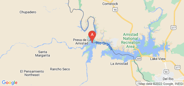 map of Río Bravo, Mexico