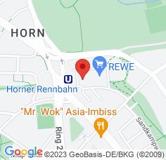Google Maps / Routenplaner Augenarzt HH-Horn