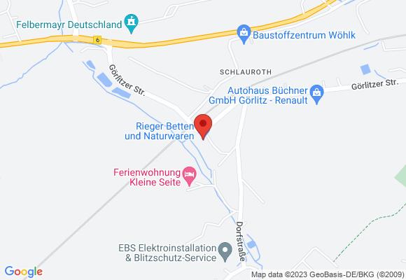 Rieger Betten- und Naturwaren GmbH & Co. KG , Rotdornweg 1, 02827 Görlitz