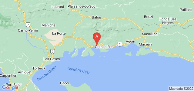 map of Saint-Louis-du-Sud, Haiti