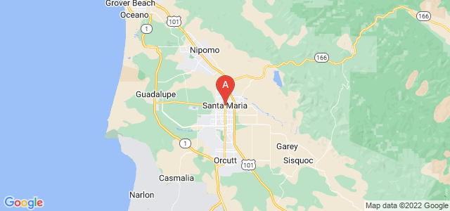 map of Santa Maria (CA), United States of America