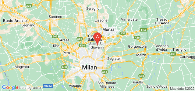 map of Sesto San Giovanni, Italy