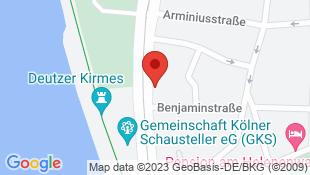 Karte unseres Standortes