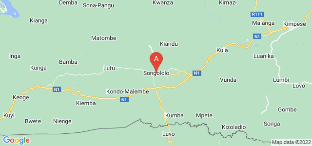 map of Songololo, Democratic Republic of the Congo