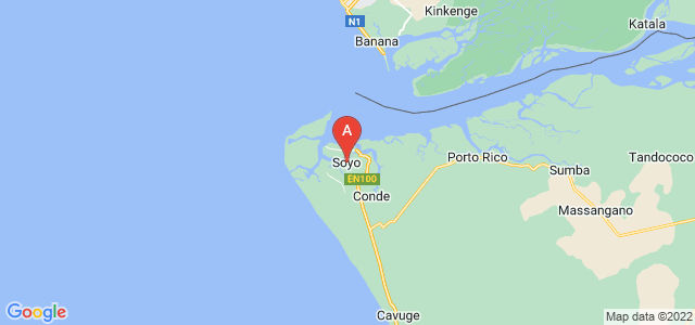 map of Soyo, Angola