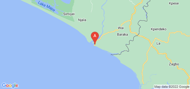 map of Sulima, Sierra Leone