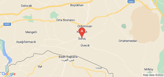 map of Suruç, Turkey