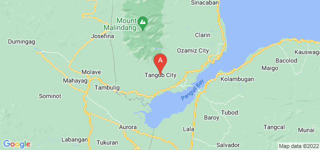 map of Tangub, Philippines