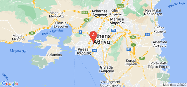 map of Tavros, Greece