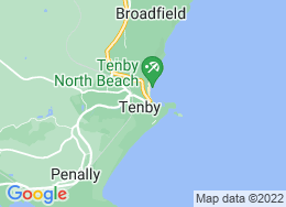 Tenby,Dyfed,UK