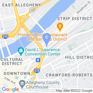 The Art Institute of Pittsburgh Street View Map