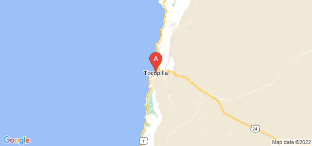 map of Tocopilla, Chile