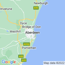 Map of Aberdeen