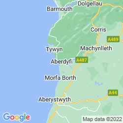 Map of Aberdovey