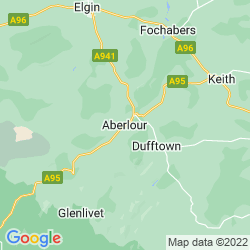Map of Aberlour