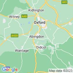 Map of Abingdon