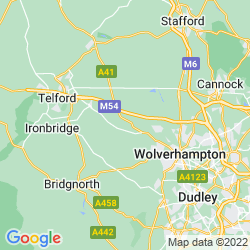 Map of Albrighton