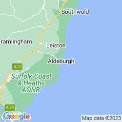 Map of Aldeburgh