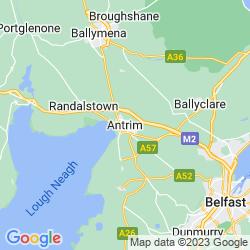 Map of Antrim