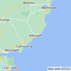 Map of Arbroath