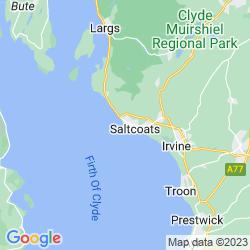Map of Ardrossan