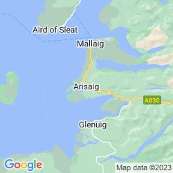 Map of Arisaig