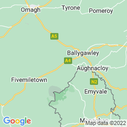Map of Augher