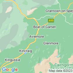 Map of Aviemore