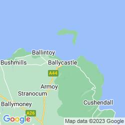 Map of Ballycastle