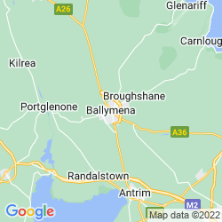 Map of Ballymena