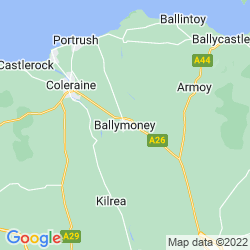 Map of Ballymoney