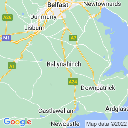 Map of Ballynahinch