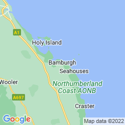 Map of Bamburgh