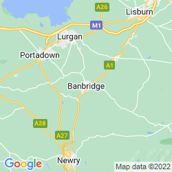 Map of Banbridge