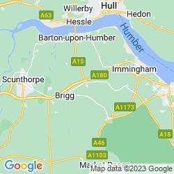 Map of Barnetby