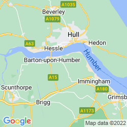 Map of Barrow Upon Humber