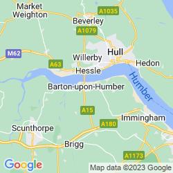Map of Barton-upon-Humber