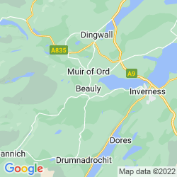 Map of Beauly