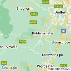 Map of Bewdley