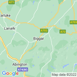 Map of Biggar