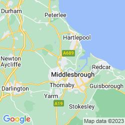 Map of Billingham