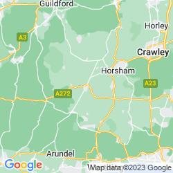 Map of Billingshurst
