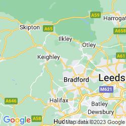 Map of Bingley