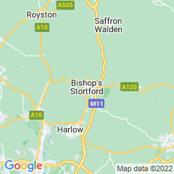 Map of Bishop's Stortford